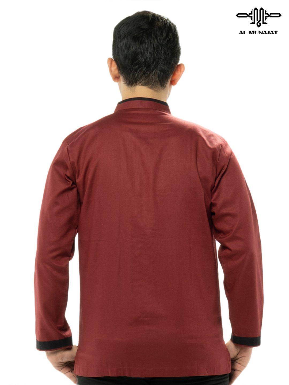 Yama Lengan Panjang Warna Red / Merah 1205