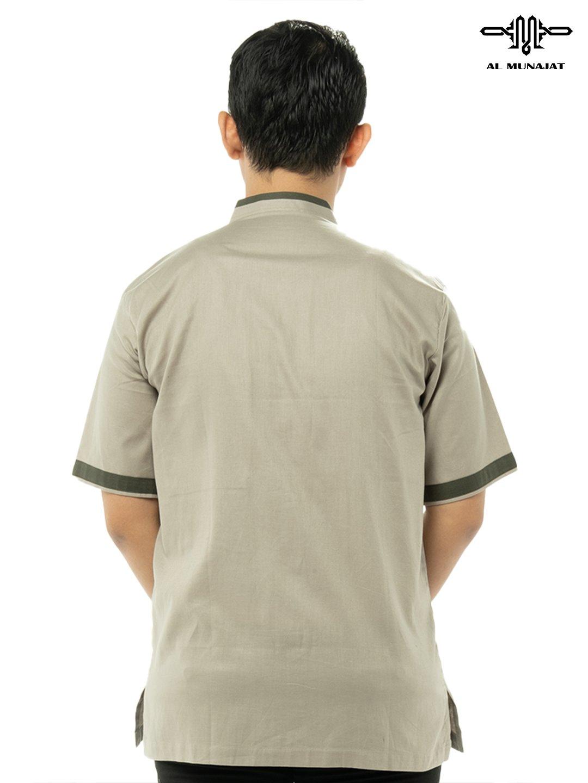 Yama Lengan Pendek Warna Chino Green / Hijau Muda 1103