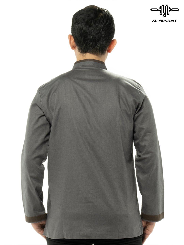 Yuzer Lengan Panjang Warna Grey / Abu 2202