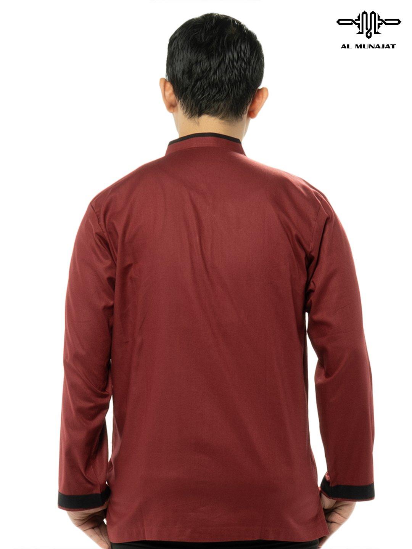 Yuzer Lengan Panjang Warna Red / Merah 2205