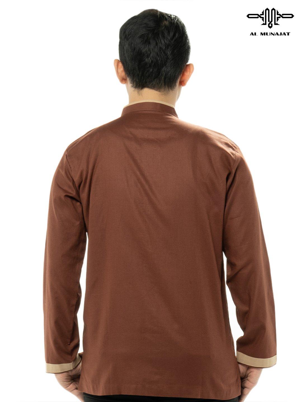 Yuzer Lengan Panjang Warna Brown / Coklat 2210