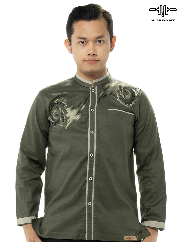 Yuzer Lengan Panjang Warna Dark Green / Hijau 2207